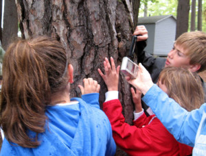 Students attend the TREE Center Environmental Eductional program