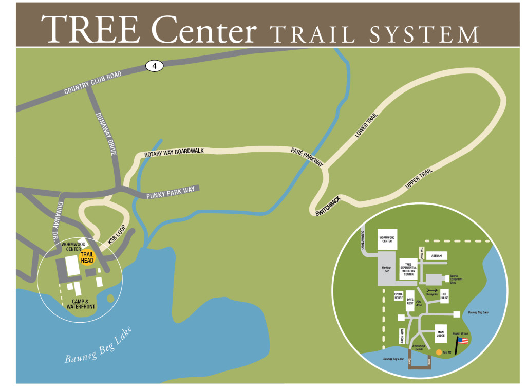 Waban Trail Map