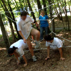 Teambuilding-Spiderweb